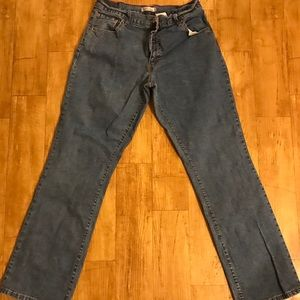 Women's Levi's Relaxed Boot Cut 550 Jeans 12M